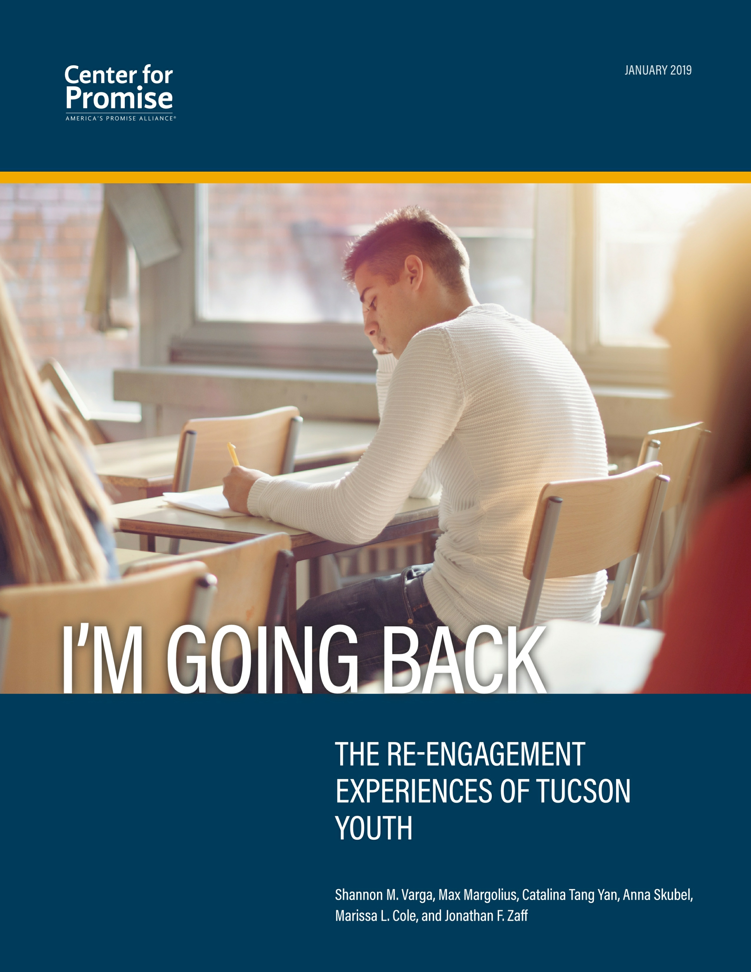 I'm Going Back: Re-Engagement Experiences of Tucson Youth Cover Image