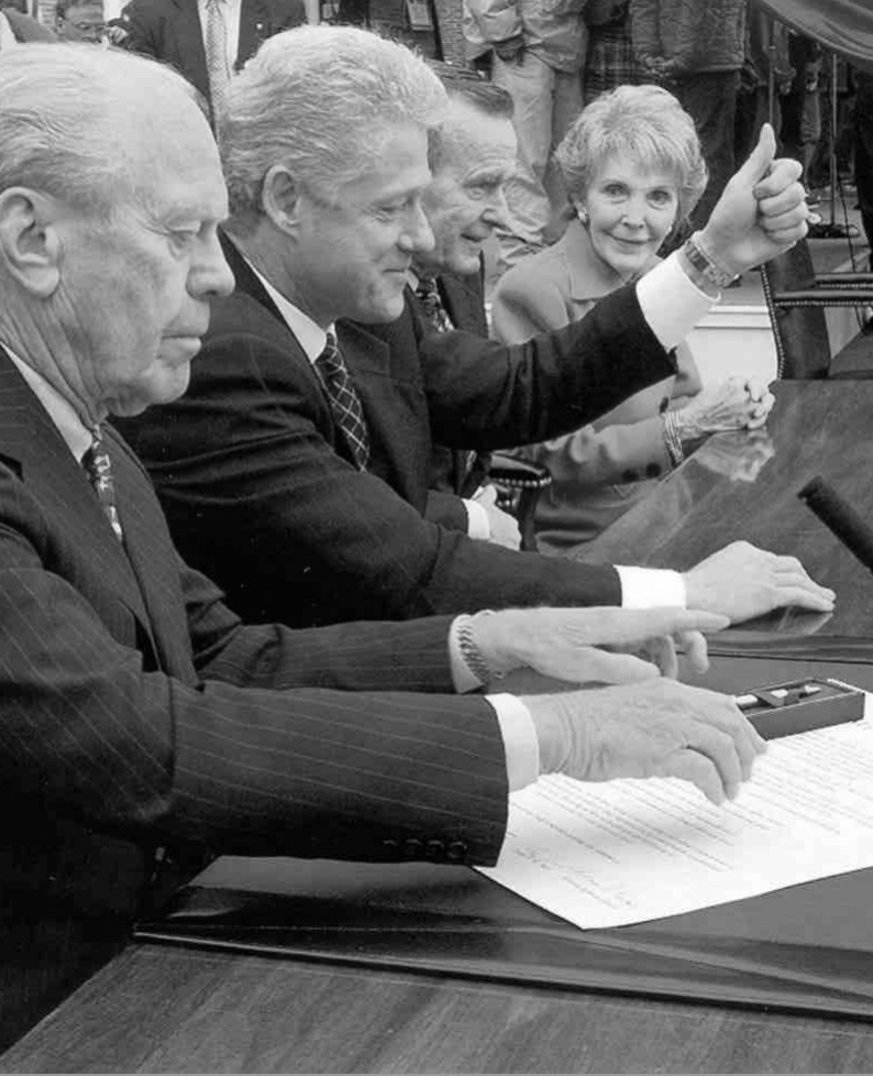 President's Signing