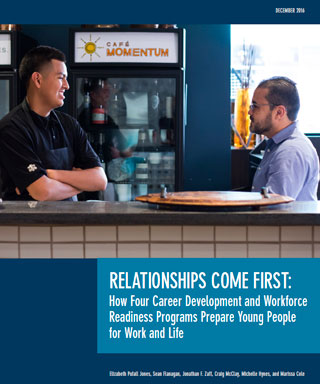 Relationships Come First report cover