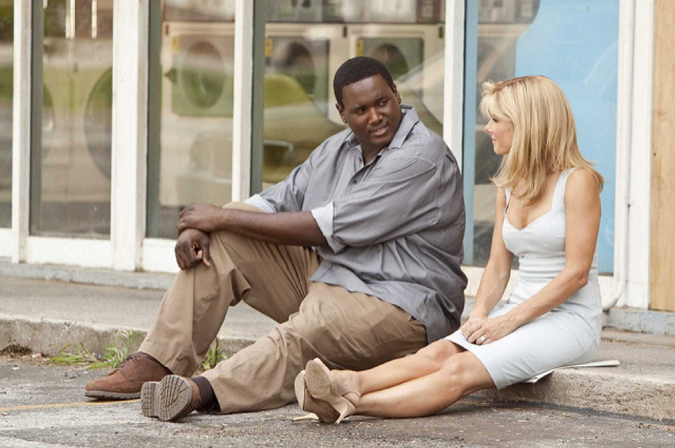 "Picture from ""The Blind Side"""
