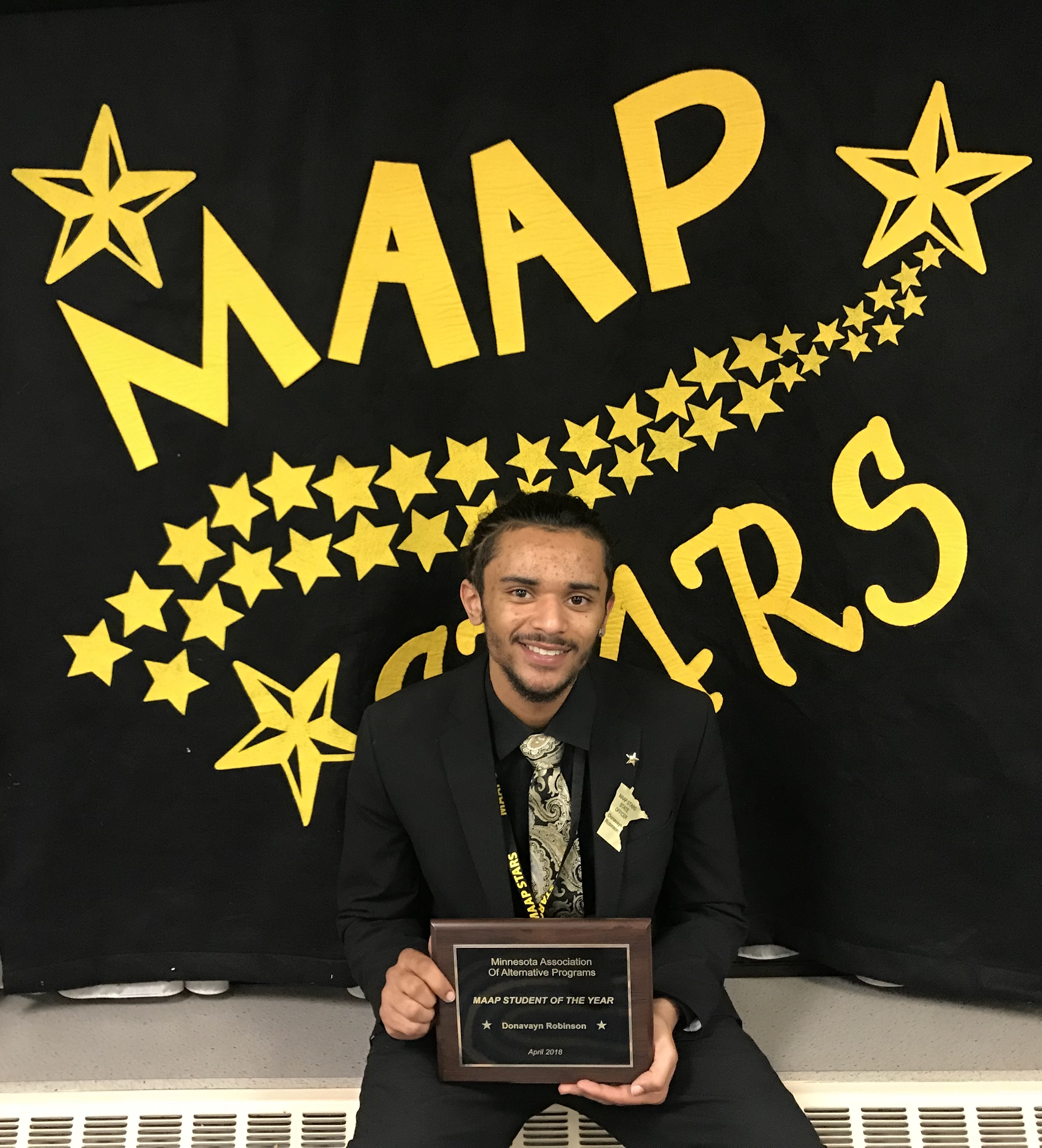 Donavayn Robinson - MAAP Student of the Year