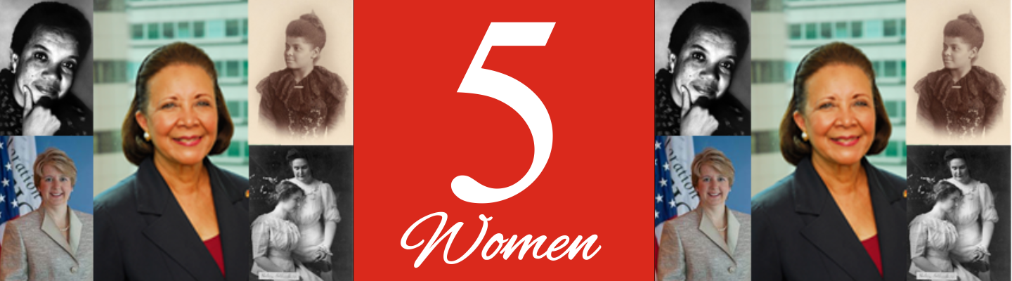 Five Women Who Represent Five Promises Header