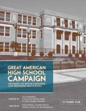 Great American High School Campaign report cover