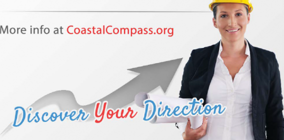 Discover your direction: more info at coastalcompass.org
